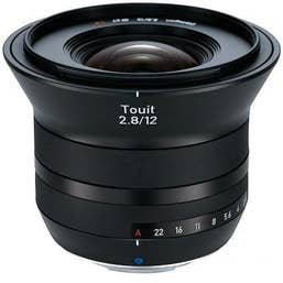 Zeiss Distagon Touit 12mm F2.8 Lens for Sony NEX