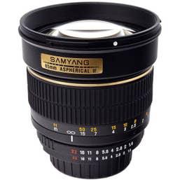 Samyang 85mm F/1.4 UMC II Lens for Nikon Full Frame - 200136