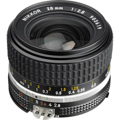 Nikon 28MM F/2.8 NIKKOR Lens A   (JAA112AB)