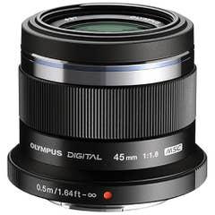 Olympus M.Zuiko Digital ED 45mm f/1.8 Lens (black)