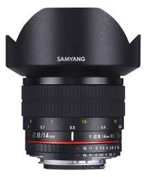 Samyang 14mm f/2.8 IF ED UMC Aspherical Lens - Olympus 4/3  (200312)