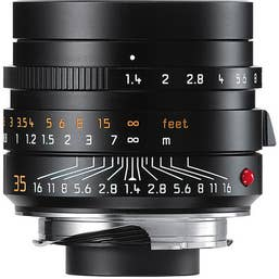 Leica Summilux-M 35mm F1.4 ASPH Black Lens