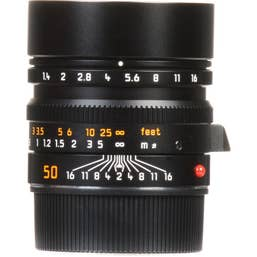 Leica Summilux-M 50mm F1.4 ASPH Lens  -  Black  - 11891