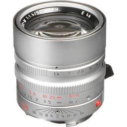 Leica Summilux-M 50mm F1.4 ASPH Lens - Silver 11892