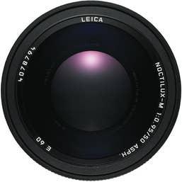 Leica Noctilux-M 50mm F0.95 ASPH Lens - Black
