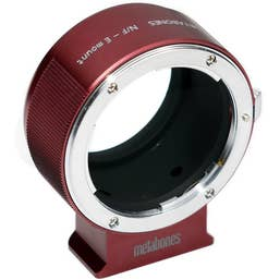 Metabones Nikon F to E-mount - Red    (MB_NF-E-RM2)    MB-043