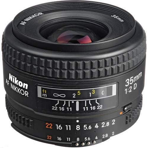 Nikon AF 35MM F/2D Lens