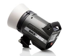Elinchrom BRX 250 Head With Protection Cap   (01.20440)