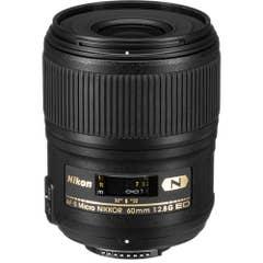 Nikon AF-S MICRO 60mm F/2.8G Lens