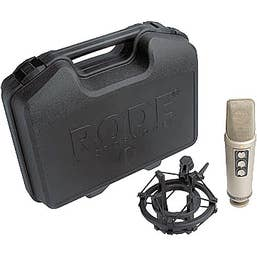 Rode NT2000 - Variable Pattern Studio Condenser Microphone
