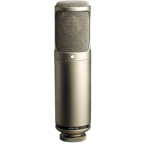 Rode K2 - Variable Pattern Studio Tube Condenser Microphone