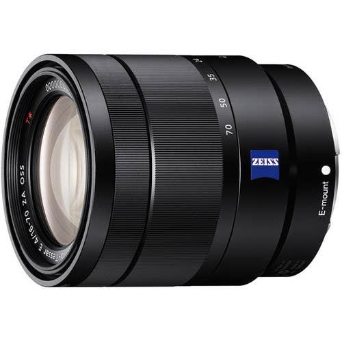 Sony E 16-70mm F4 Carl Zeiss ZA OSS Lens