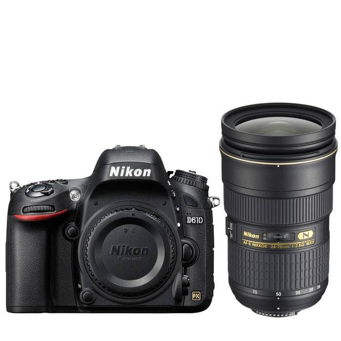 Nikon D610 Digital SLR with AF-S 24-70mm f2.8G Lens