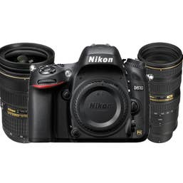 Nikon D610 Digital SLR with AF-S 24-70mm f/2.8G and  AF-S 70-200mm f/2.8G VR II Lens