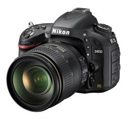 Nikon D610 Digital SLR with AF-S 24-120mm f4G VR Lens