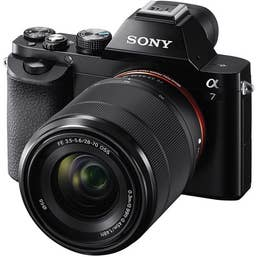 Sony a7 Single Kit with FE 28-70mm f3.5-5.6 OSS Lens