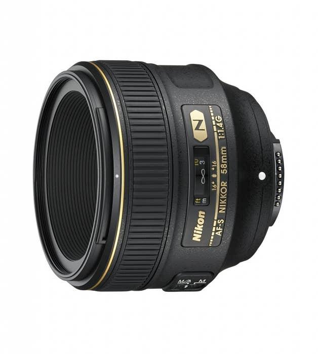 Nikon AF-S 58mm f/1.4 G Lens