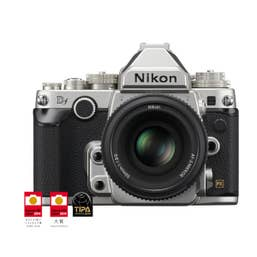 Nikon Df Digital SLR with Nikkor AF-S 50mm F/1.8G - Silver
