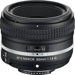 Nikon AF-S NIKKOR 50mm f/1.8G Lens - Special Edition  (JAA016DA)