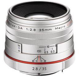 Pentax HD Pentax-DA 35mm f/2.8 Macro Limited Lens - Silver   (21460)