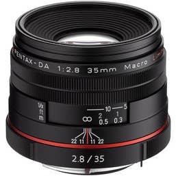 Pentax HD Pentax-DA 35mm f/2.8 Macro Limited Lens - Black  (21450)