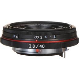 Pentax HD Pentax-DA 40mm f/2.8 Limited Lens - Black   (21390)
