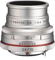 Pentax HD Pentax-DA 70mm f/2.4 Limited Lens - Silver  (21440)