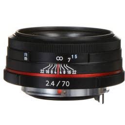 Pentax HD Pentax-DA 70mm f/2.4 Limited Lens - Black   (21430)