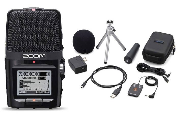 Zoom H2n Portable Digital Audio Recorder with APH-2n Accessory Pack