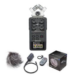 Zoom H6 Recorder ( FXR006P ) includes APH-6 Accessory Pack