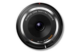 Olympus 9mm f/8.0 Body Cap Lens (black)