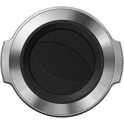 Olympus LC-37C Auto Opening Lens Cap for M.Zuiko14-42 EZ (silver)