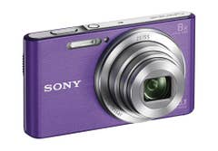 Sony Cyber-shot DSC-W830V Compact Digital Camera - Violet