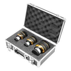 """82 DEGREE EYEPIECE KIT 7MM (1.25""""), 15MM(1.25""""), 23MM(2"""") In a Hard Case"""