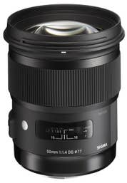 Sigma 50mm f/1.4 DG HSM Art Lens for Sony (A-Mount)