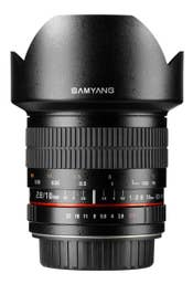Samyang 10mm f/2.8 ED UMC II Lens - Canon EOS