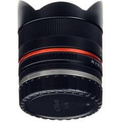 Samyang 8mm f/2.8 UMC II Fisheye Lens - Fujifilm X Mount (Black)