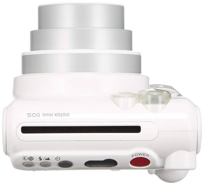 Fujifilm Instax Mini 50S Instant Film Camera - Piano White