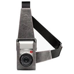 Holster Leica Typ (701), leather, stone-grey