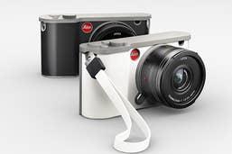 Leica T (Typ 701) Silicon Wrist Strap  -  White  -  18816