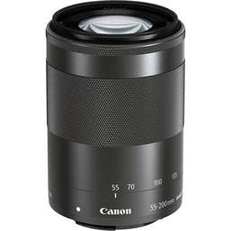 Canon EF-M 55-200mm f/4.5-6.3 IS STM Lens for EOS-M