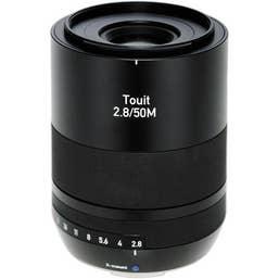 Zeiss Distagon Touit 50mm f/2.8 Lens for Fujifilm X Mount