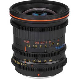 Tokina Cinema 11-16mm T3.0 Lens for Canon EF Mount
