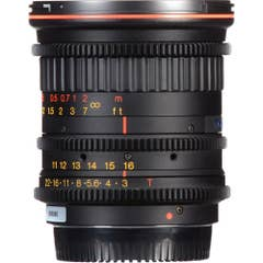 Tokina Cinema 11-16mm T3.0 Lens for Micro Four Thirds Mount