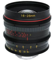 Tokina Cinema ATX 16-28mm T3 Wide-Angle Zoom Lens for Canon EF