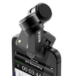 Rode iXY Stereo Recording Microphone (Lightning Connector)
