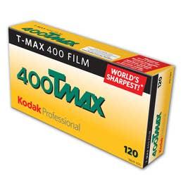 Kodak Professional T-Max 400 Film 120 5 Pack