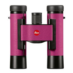 Leica 10x25 Ultravid Colorline Binocular (Cherry Pink)