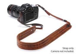 ONA  PRESIDIO Camera Strap - Antique Cognac (Italian leather)  ONA023LBR