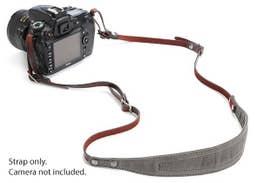 ONA LIMA  Camera Strap - Smoke         (ONA5-015GR)
